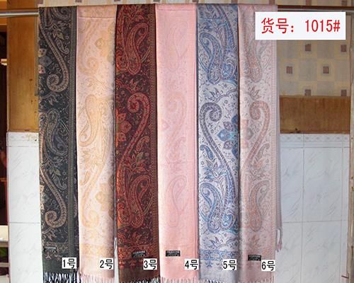 炫彩羊绒围巾